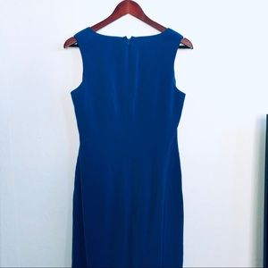 Preview Collections Royal Blue Sheath Dress